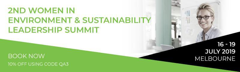 2nd Women in Environment & Sustainability Leadership Summit
