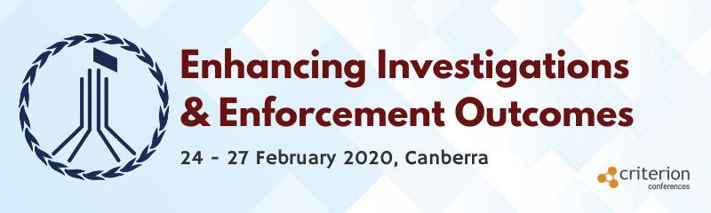 3rd Enhancing Investigations & Enforcement Outcomes Conference