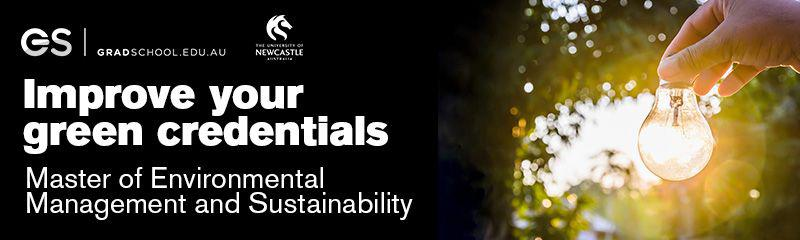 Master of Environmental Management and Sustainability