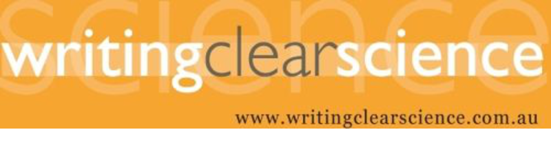 2016 Writing Clear Science Workshops